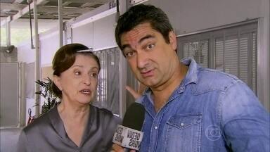 Zeca Camargo conversa com elenco de 'Joia Rara' - Atores revelam o que desejam para o final da novela