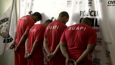 Polícia prende quatro suspeitos de matar homem por vingança no Paquetá, em BH - O crime foi em dezembro de 2012. Ele foi morto, segundo a polícia, por ser considerado delator.