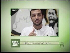 Confira a mensagem de Edu Dracena aos jogadores dos times da região - Jogador também conta um pouco sobre sua rotina no time do Santos.