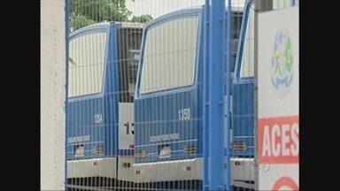 Em Ji-Paraná, paralisação de motoristas do transporte publico continua - A população está sem transporte.