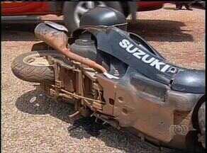 Motociclista sem documentação foge de cena de acidente em Palmas - Motociclista sem documentação foge de cena de acidente em Palmas