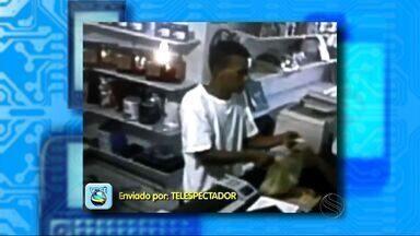 Homem invade e assalta loja de informática na zona norte de Aracaju - Homem invade e assalta loja de informática na zona norte de Aracaju