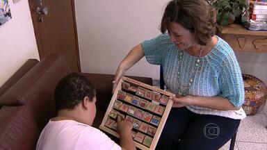 Pais encontram dificuldades no processo de educação de autistas - Os autistas criam um mundo próprio, mas precisam viver na realidade de todos.