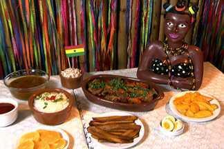 Disputa de pratos típicos das seleções tem frango da Rússia e de Gana - No Copa & Cozinha a escolha fica entre dois pratos campeões: o frango ao curry de Gana e o à Kiev da Rússia.