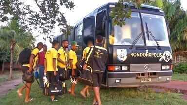 Rondonópolis enfrenta hoje o CRB pela Copa do Brasil - O Rondonópilis viajou hoje para Maceió para jogo pela Copa do Brasil.