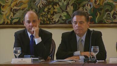 Governador João Lyra Neto faz a primeira reunião do secretariado - O encontro foi no Palácio do Campo das Princesas e durou toda a manhã.