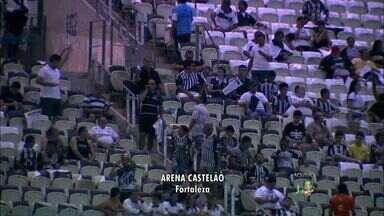 Torcida do Ceará já marca presença no Castelão para a final da Copa do Nordeste - Ceará disputa a final com o Sport, no Castelão.