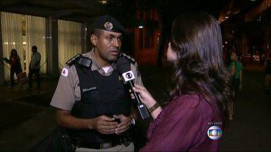 Policiais à paisana vão ajudar no monitoramento da Praça Sete - Local virou ponto de tráfico e venda de produtos roubados