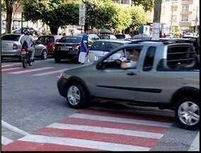 Novo faixa azul começa a funcionar dia 02 de maio em Timóteo - Sistema pretende organizar o trânsito.