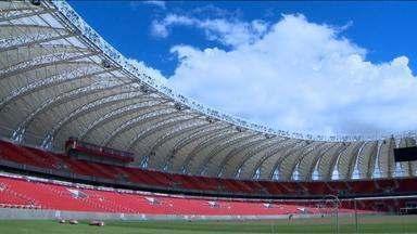 Final do Gauchão 2014 será no estádio Centenário, em Caxias do Sul, RS - Decisão foi anunciada pela direção do Internacional na tarde desta quarta-feira, depois de o MP ter recomendado que o Beira-Rio não fosse usado no clássico Gre-Nal.