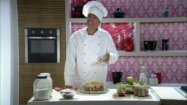 A cozinha mágica de Marlon - O chef mostra a receita instantânea do bolo de laranja. E ainda anuncia que vai fazer feijoada na semana que vem!