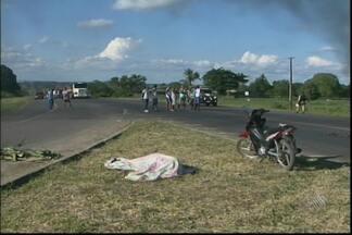 Acidente entre moto e caminhão deixa uma pessoa morta perto de São Gonçalo dos Campos - O acidente ocorreu na tarde do último domingo, na BR-101.
