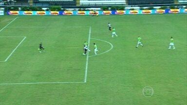 Sem torcida, Vasco estreia com empate em casa contra o América-MG na Série B do Brasileiro - Reginaldo colocou cruz-maltino na frente e Obina deixou tudo igual em São Januário.