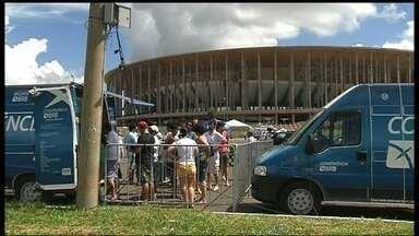 Brasília recebe o Paysandu nesta segunda-feira no Mané Garrincha pela final da Copa Verde - Papão venceu jogo de ida, em Belém-PA, por 2 a 1, e pode ser campeão com um empate.