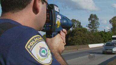 Estradas federais registram 10 mil infrações no feriado no Sul de MG - Estradas federais registram 10 mil infrações no feriado no Sul de MG
