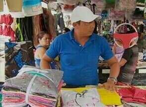 Mudança da Feira de Toritama estaria causando prejuízos para vendedores - Eles reclamam principalmente da falta de estrutura do novo local.