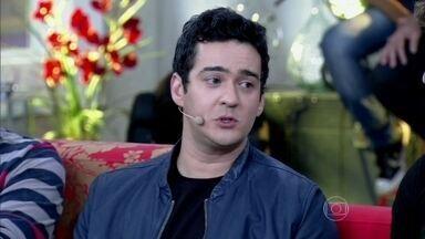 Marcos Veras fala que humor é a arma para os feios - Humorista lembra sobre seu relacionamento