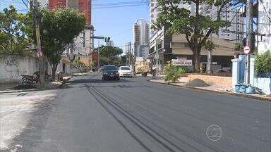 No Recife, trecho da Estrada do Arraial é liberado ao tráfego - Serviço para conserto de tubulação da Compesa terminou com a finalização do asfalto.