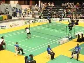 Atletas piauienses de badminton disputam Campeonato Brasileiro no Theresina Hall - Atletas piauienses de badminton disputam Campeonato Brasileiro no Theresina Hall