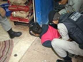 Policial Militar evita assalto a supermercado em Jataí, Goiás - Agente estava à paisana. Armado com um revólver o criminosos fez um cliente refém.