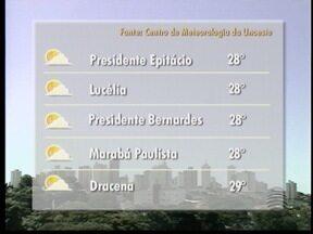 Ar seco avança pelo Oeste Paulista e diminui possibilidade de chuva - Veja como ficam as temperaturas em alguns municípios.