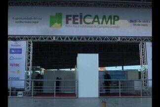 Campina Grande sedia a 'FeiCamp', feira imobiliária - Aberta uma feira imobiliária que deve movimentar mais de vinte milhões de reais em vendas no setor.