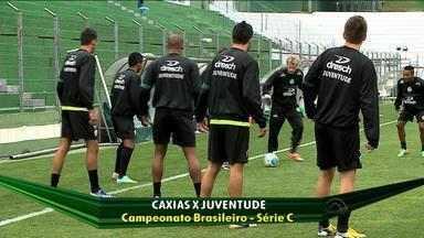 Ca-Ju estreia a série C do Brasileirão com mistério nos times - Treinos foram de portões fechados para a dupla.