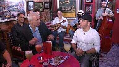 Botequim do Maurício recebe Sandro Coelho e Eduardo Menezes - Assista ao vídeo.