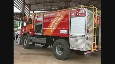 Corpo de Bombeiros de Ariquemes recebe caminhão tanque para combater incêndio florestais - São seis caminhões distribuídos no interior de Rondônia.