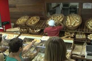 Preço do pão sofrerá reajuste na próxima semana - Segundo nutricionistas, alimento pode ser substituído pela beiju de tapioca, tipicamente nordestino.