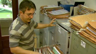 Prazo de entrega para a declaração do imposto de renda termina na quarta-feira - Contadores estão lotados de trabalho.