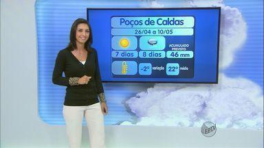 Confira a previsão do tempo para este domingo (27) no Sul de Minas - Confira a previsão do tempo para este domingo (27) no Sul de Minas