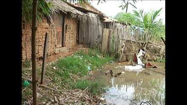 O período é de alerta para os moradores que vivem às margens do Rio Mearim em, Bacabal - O período é de alerta para os moradores que vivem às margens do Rio Mearim em, Bacabal.