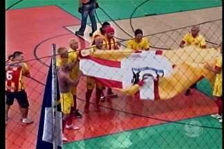 Confira como foi a final da Copa TV Grande Rio de Futsal - O confronto final foi marcado por pernambucanos e baianos.