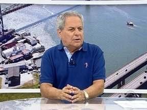 Miguel Livramento fala de clássico catarinense pelo Brasileirão e dá Série B - Miguel Livramento fala de clássico catarinense pelo Brasileirão e dá Série B