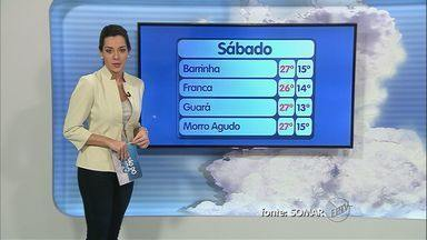 Veja como fica o tempo neste sábado (3) na região de Ribeirão Preto - Dia começou nublado, mas o clima deve continuar seco.