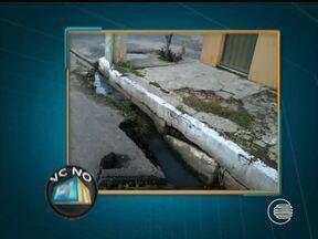 Morador denuncia buraco que causa transtornos na avenida Gil Martins - Morador denuncia buraco que causa transtornos na avenida Gil Martins