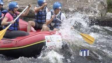 Repórter Bruno Pellegrine está se preparando para o Desafio Vanguarda - Em seis dias serão oito modalidades esportivas, metade delas na água.