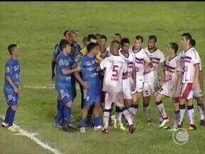 Parnahyba e River-PI disputam a semifinal do segundo turno do Piauiense - Parnahyba e River-PI disputam a semifinal do segundo turno do Piauiense