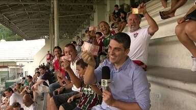 Fluminense encara Vitória com torcida empolgada e nova promoção de ingressos - O preço de R$ 10,00 tem levado famílias e mais famílias as partidas do tricolor da Laranjeiras.