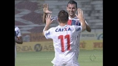 Paraná arrancou um empate do Santa - Debaixo de muita chuva, um jogo duro no Recife