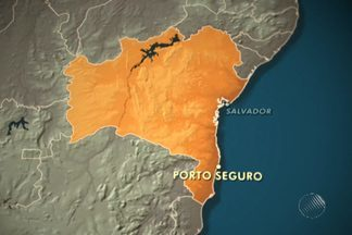 Polícia Federal investiga atentado a caminhonete que levava índia grávida - Caso ocorreu perto de Porto seguro, no sul da Bahia. Casal precisou se esconder na floresta e foi resgatado por policiais militares.