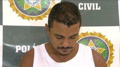 Polícia apresenta chefe do tráfico de drogas de duas favelas da Maré - A polícia civil apresentou neste sábado (03) o traficante Amabílio Gomes Filho, conhecido como o MB. De acordo com os investigadores, ele era chefe do tráfico de drogas em duas favelas do Complexo da Maré.