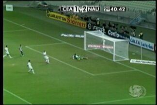 Náutico empata com o Ceará - O jogo foi em Fortaleza pelo Campeonato Brasileiro.