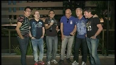 Roupa Nova faz show no DF - O grupo conversou com o DFTV antes de se apresentar.