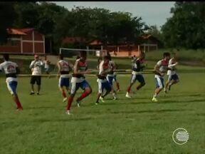 Piauí se prepara para enfrentar o River na final do Campeonato Piauiense - Piauí se prepara para enfrentar o River na final do Campeonato Piauiense