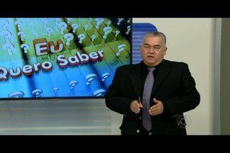 Na coluna 'Eu Quero Saber', saiba sobre direito doméstico, trabalhista e previdenciário - Paulo Souto esclarece as dúvidas dos telespectadores no Bom Dia Paraíba.