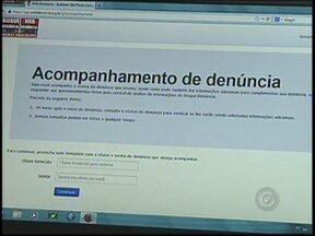 """Cresce número de denúncias feitas pela internet à polícia de Rio Preto, SP - Em São José do Rio Preto (SP), a polícia conta com a ajuda da população para solucionar crimes e a internet é uma ferramenta cada vez mais usada no combate ao crime. O """"Web Denúncia"""", que funciona desde 2013, somou 89 denúncias este ano."""