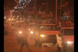Atropelamento e morte em avenida de Campina Grande - O comerciante foi atropelado por uma moto quando estava chegando em casa