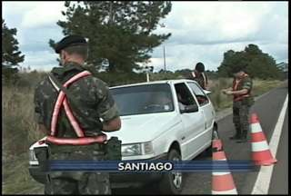 Mais de mil militares de Santiago participam da Operação Ágata - Operação reúne mais de 30 mil militares de todo o Brasil. Objetivo é coibir crimes de fronteira como tráfico de drogas e contrabando